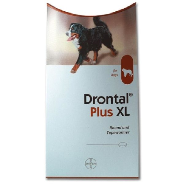 Drontal Plus XL for Dogs